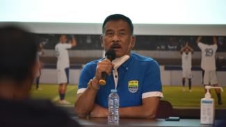 Komisaris PT Persib Bandung Bermartabat, Umuh Muchtar.