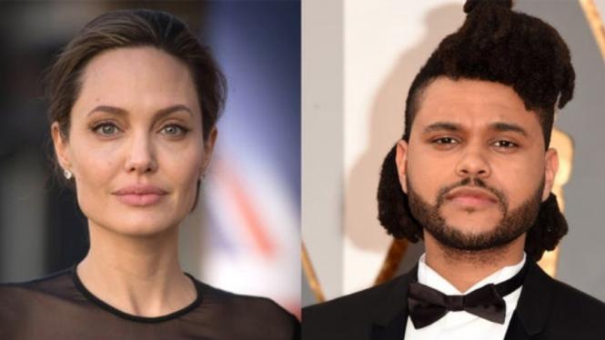 Angelina Jolie dan The Weeknd.