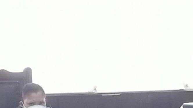 Saksi kena Covid, sidang ditunda (foto Nur Terbit)