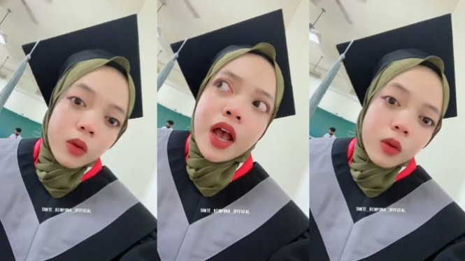 Viral Anak Sopir Angkot Dihina sampai Nyesek selama 4 Tahun (Instagram/tante_rempong_officiall)