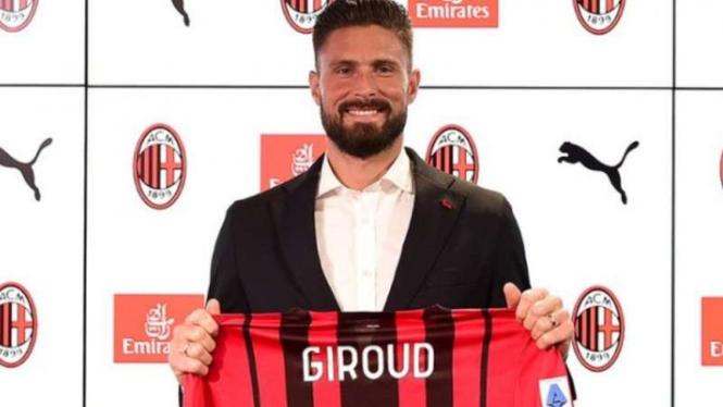 Bomber AC Milan, Olivier Giroud.