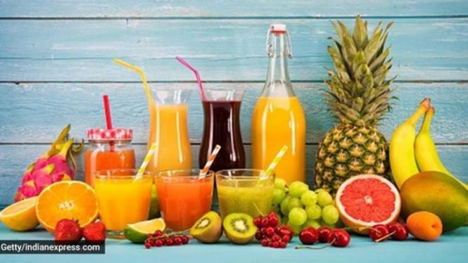 Buah-buahan dan jus