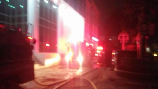Kantor BPOM kebakaran