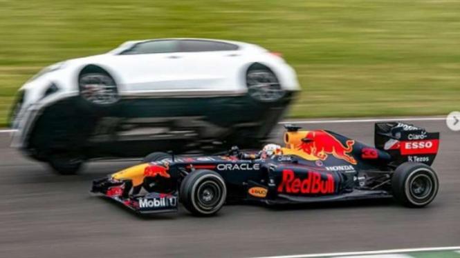 Pembalap Red Bull Racing, Max Verstappen.