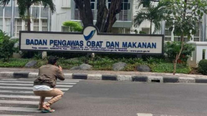 Kantor BPOM di Jakarta.