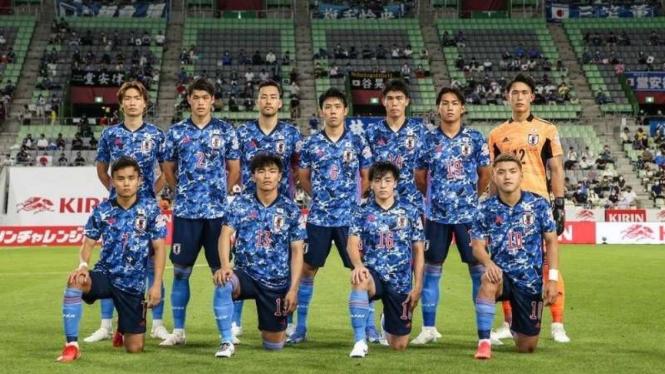 Skuad Timnas Jepang di Olimpiade 2020.