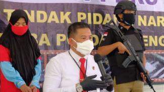 Dirresnarkoba Polda Jateng Kombes Pol Lutfi Martadian