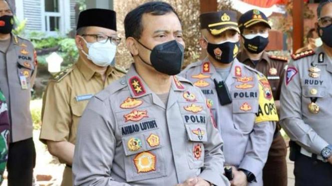 Kapolda Jawa Tengah, Irjen Pol Ahmad Luthfi.