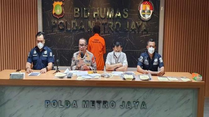 Polisi menangkap pembuat situs palsu pendaftaran bansos PPKM darurat