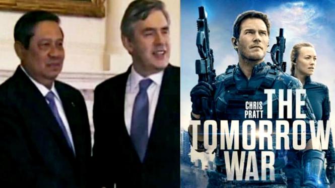Presiden RI ke-6 SBY tampil dalam film Hollywood The Tomorrow War