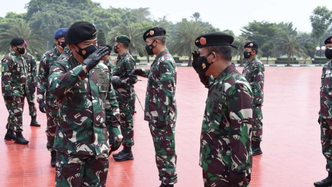 VIVA Militer: Panglima TNI pimpin Upacara Laporan Korps Kenaikan Pangkat