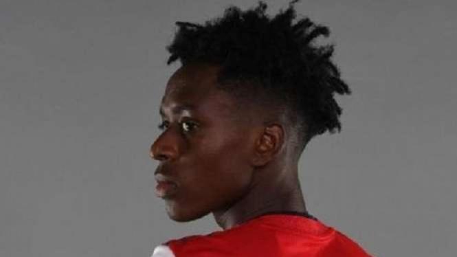 Pemain baru Arsenal, Albert Sambi Lokonga.
