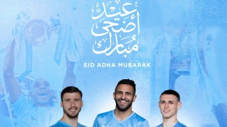 Ucapan Idul Adha dari Manchester City