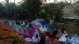 Salat Idul Adha di Musala Nurul Iman Tangerang