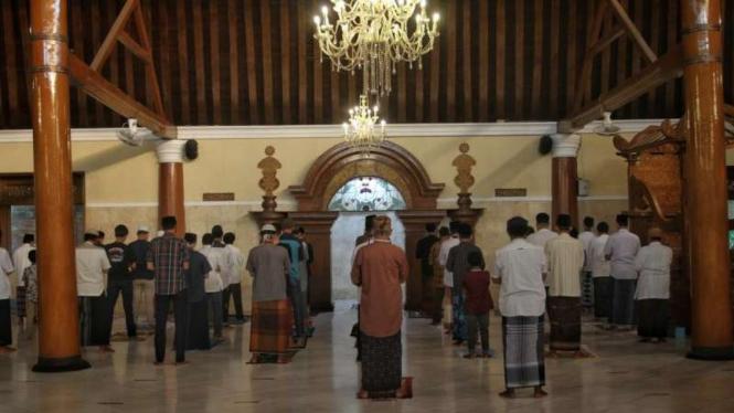 Salat Idul Adha di Masjid Agung Solo