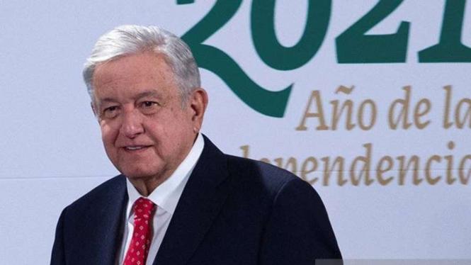 Presiden Meksiko Andres Manuel Lopez Obrador
