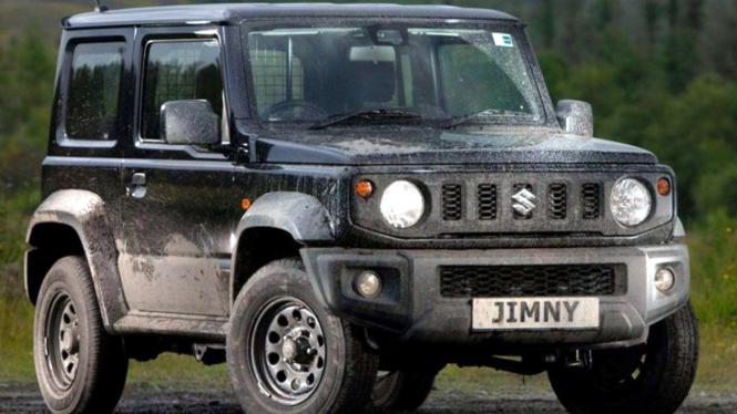 Suzuki Jimny edisi LCV.