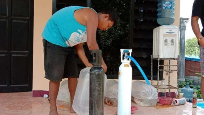 Beredar oksigen palsu di Tulungagung, Jawa Timur