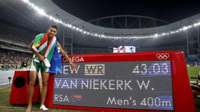 Pelari Afrika Selatan, Wayde van Niekerk