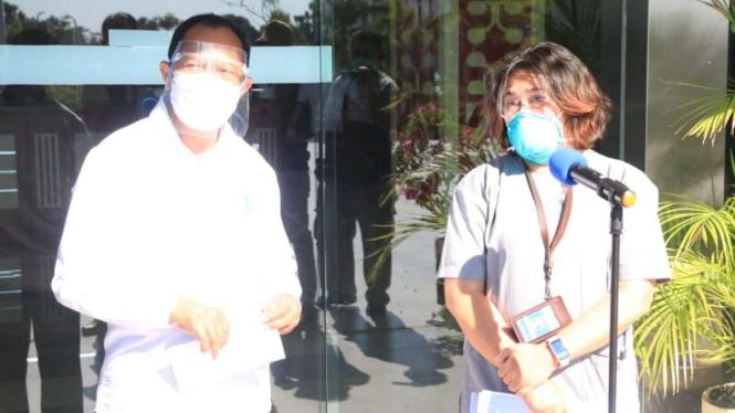 Kepala Instalasi Patalogi Klinik RSUD Prof. Dr. W.Z. Johannes Kupang, Hermi.