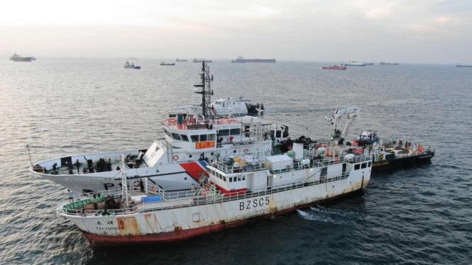 Kemenhub evakuasi jenazah ABK WNI dari kapal berbendera China.