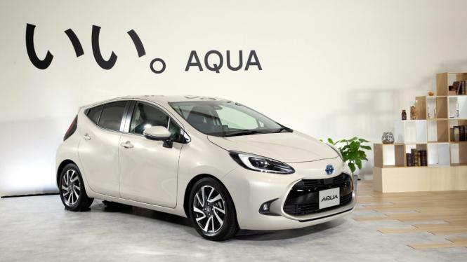 Toyota All New Aqua.