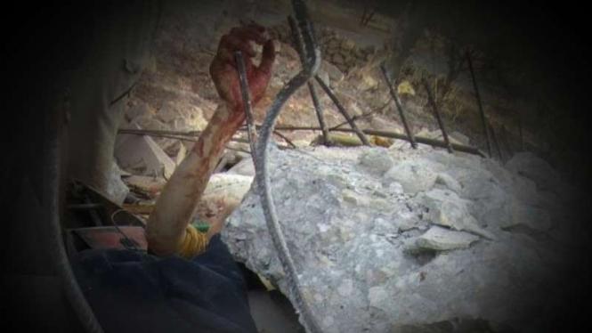 VIVA Militer: Korban serangan militer Suriah dan Rusia di idlib.