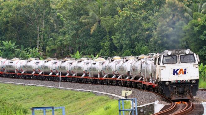 Angkutan Barang PT KAI.