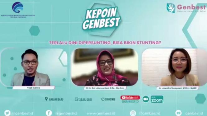 "Forum Kepoin Genbest ""Terlalu Dini Dipersunting, Bisa Bikin Stunting?"" (23/07)"