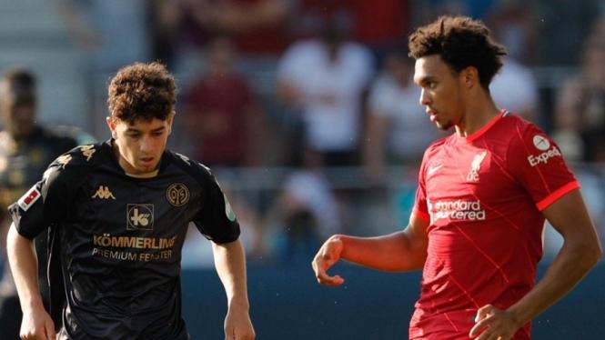 Pertandingan Liverpool vs Mainz