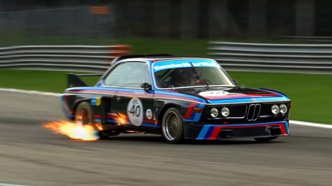 BMW CSL Batmobile
