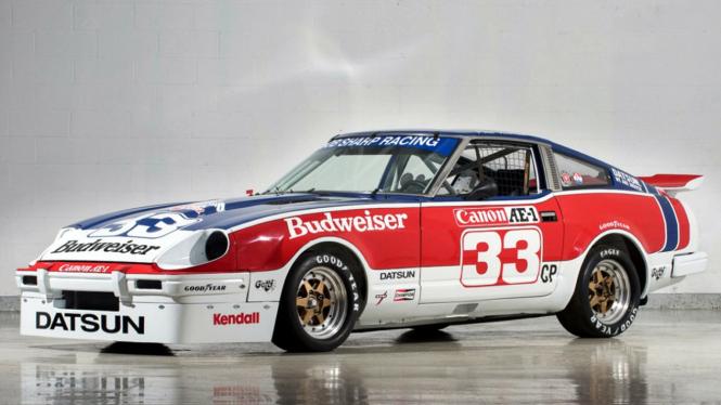 Datsun 280ZX eks Paul Newman.