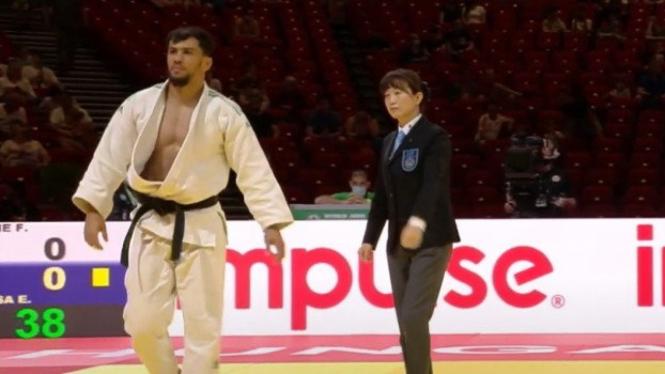 Atlet judo asal Aljazair, Fethi Nourine