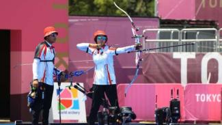 Atlet panahan Indonesia,  Riau Ega Agatha dan Diananda Choirunisa