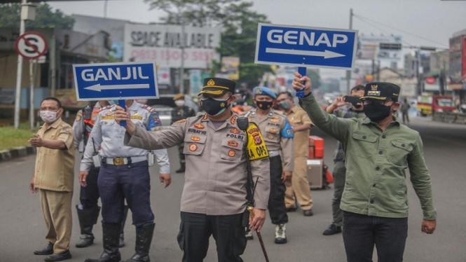 Ganjil genap di Bogor