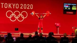 Windy Cantika Aisah raih medali perunggu di Olimpiade Tokyo 2020