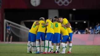 Skuad Timnas Brasil U-23 di Olimpiade Tokyo 2020.