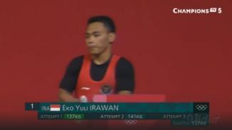Lifter Indonesia, Eko Yuli Irawan
