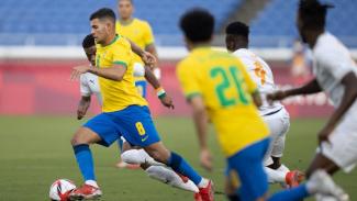 Duel Timnas Brasil vs Pantai Gading di Olimpiade 2020