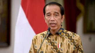 Presiden Jokowi umumkan PPKM Level 4.