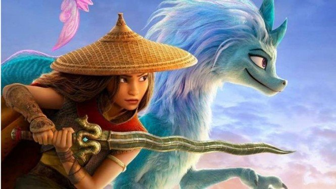 Poster Film Raya and the Last Dragon.