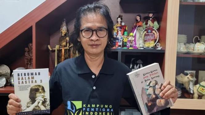 Tengsoe Tjahjono, Penggagas Pentigraf (Foto: Dok. Pribadi)