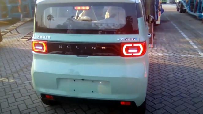 Wuling Mini EV resmi mendarat di Indonesia.