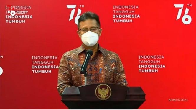Menteri Kesehatan Budi Gunadi Sadikin