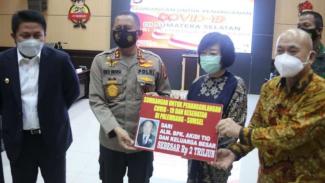 Keluarga pengusaha Akidio Tio sumbang Rp2 Triliun ke Polda Sumsel
