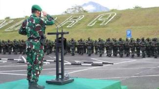 VIVA Militer: Pasukan Yonif Raider Khusus 114/Satria Musara