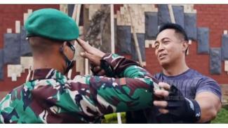 VIVA Militer: Jenderal TNI Andika Perkasa bertemu kuli yang jadi prajurit TNI AD