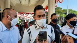 Presiden Arema FC, Gilang Widya Purnama.