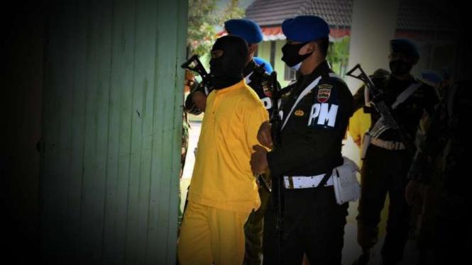 VIVA Militer: Prajurit TNI penembak wartawan Lasser News.