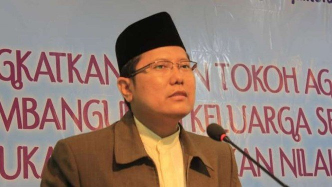 Ketua Majelis Ulama Indonesia (MUI), KH. Cholil Nafis.